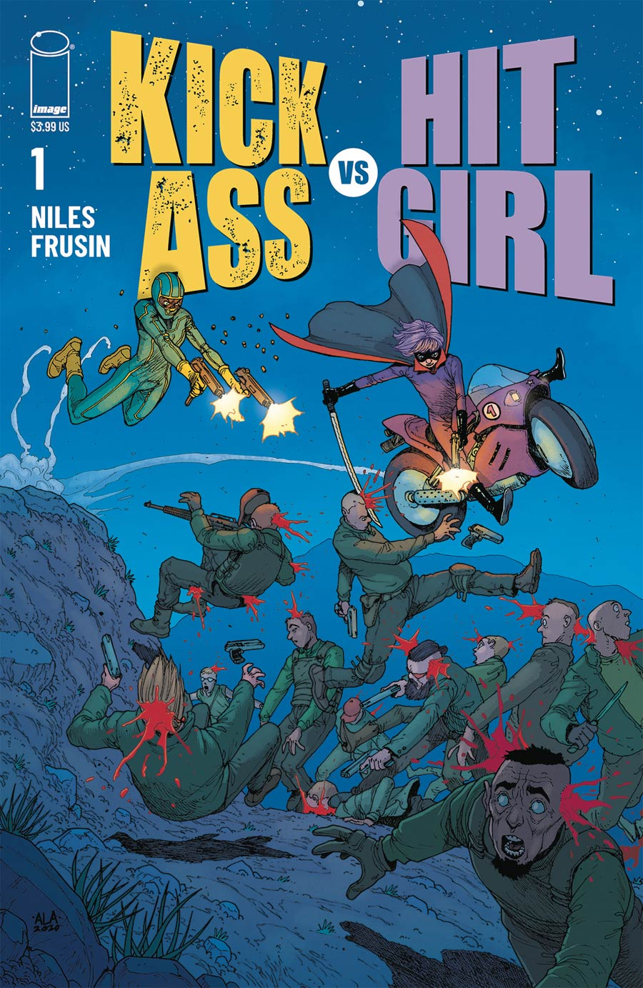 Kick-Ass vs Hit-Girl #1 Cover D Variant Andre Araujo Cover