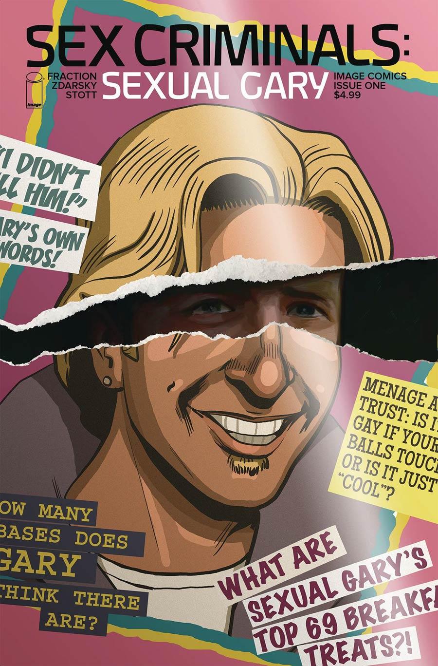Sex Criminals Sexual Gary Special Cover A Regular Chip Zdarsky Cover