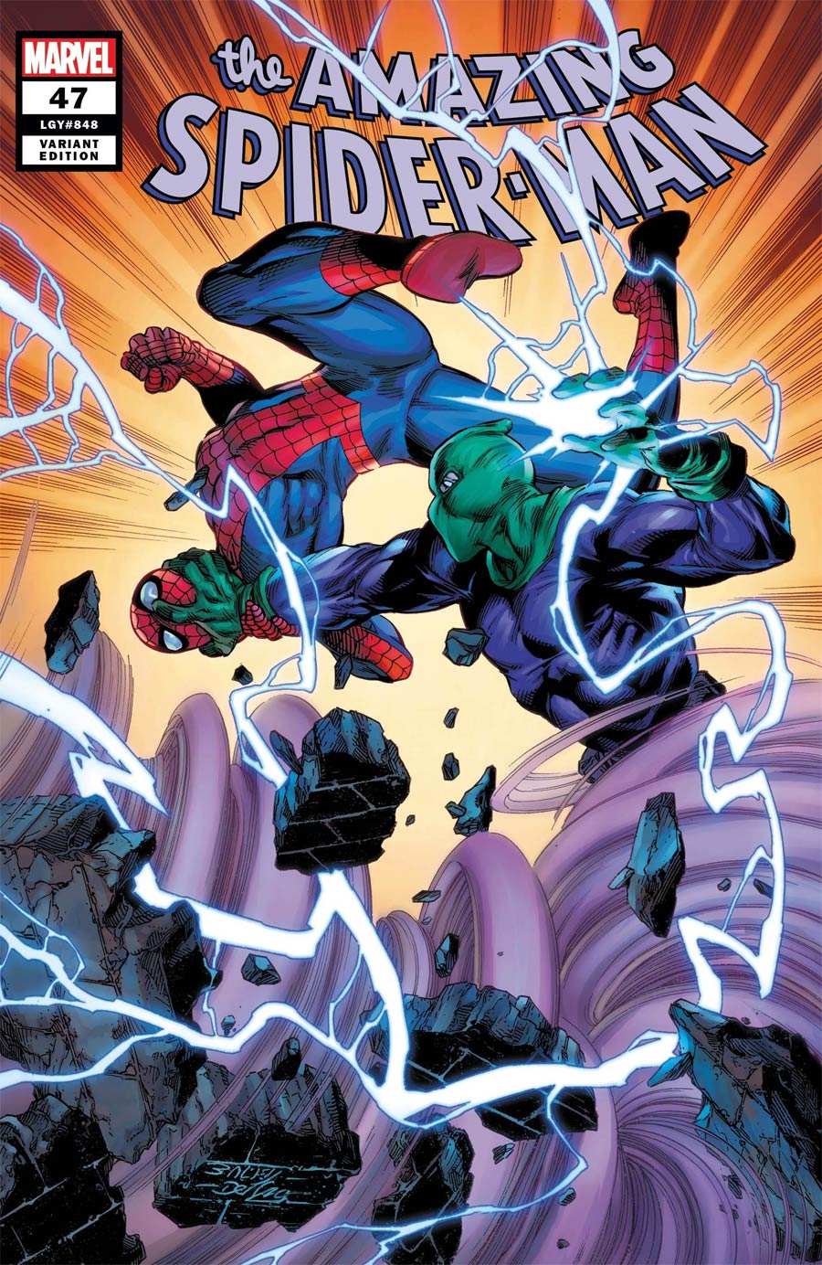 Amazing Spider-Man Vol 5 #47 Cover B Variant Mark Bagley Cover