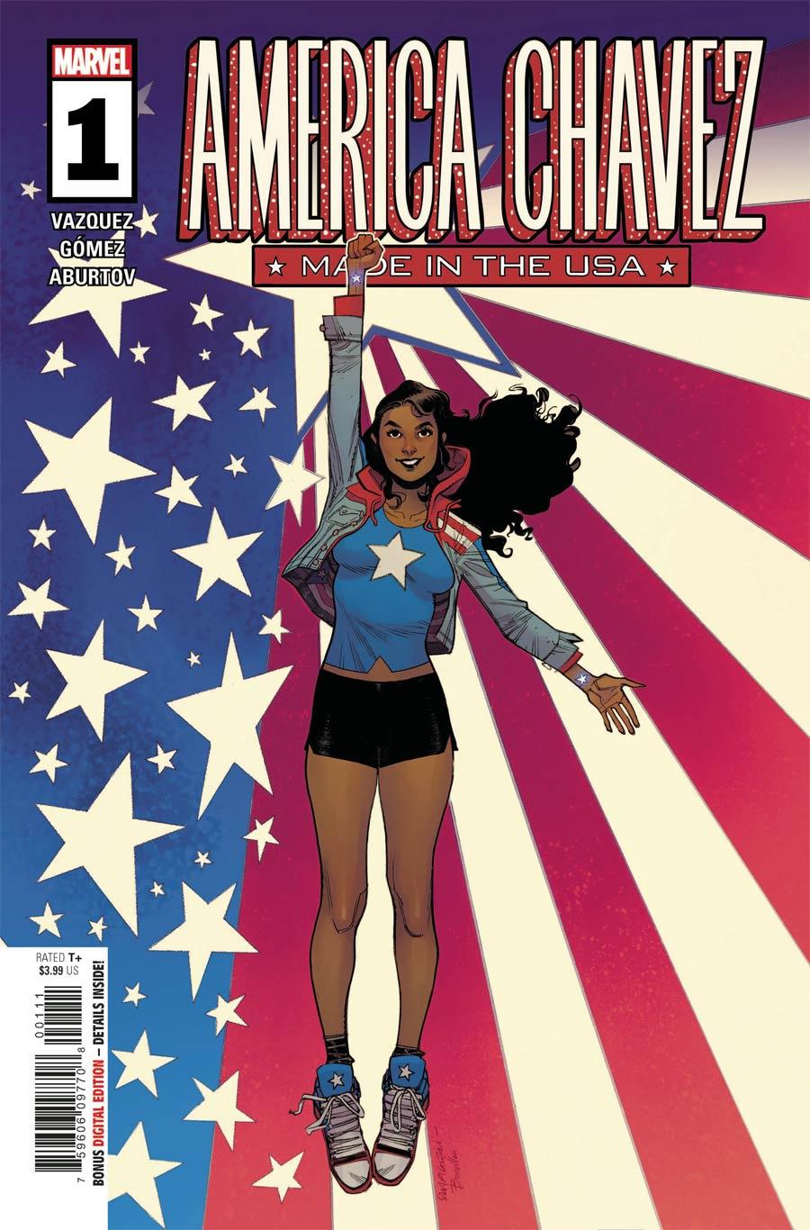 America Chavez Made In The USA #1 Cover A Regular Sara Pichelli Cover (Limit 1 Per Customer)