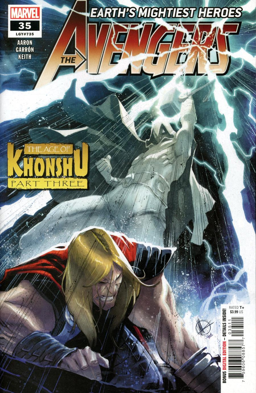 Avengers Vol 7 #35