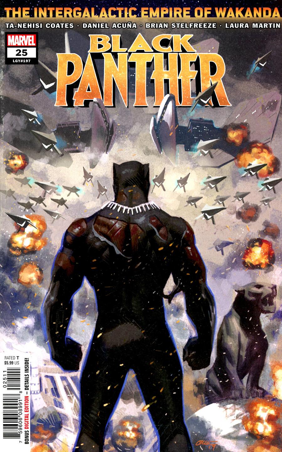 Black Panther Vol 7 #25 Cover A Regular Daniel Acuna Cover
