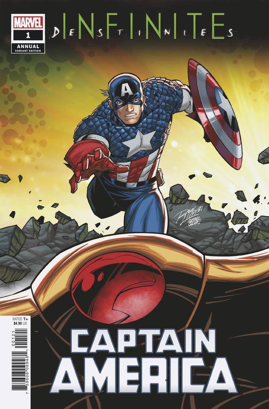 Captain America Vol 9 Annual #1 (2021) Cover B Variant Ron Lim Connecting Cover (Infinite Destinies Tie-In)