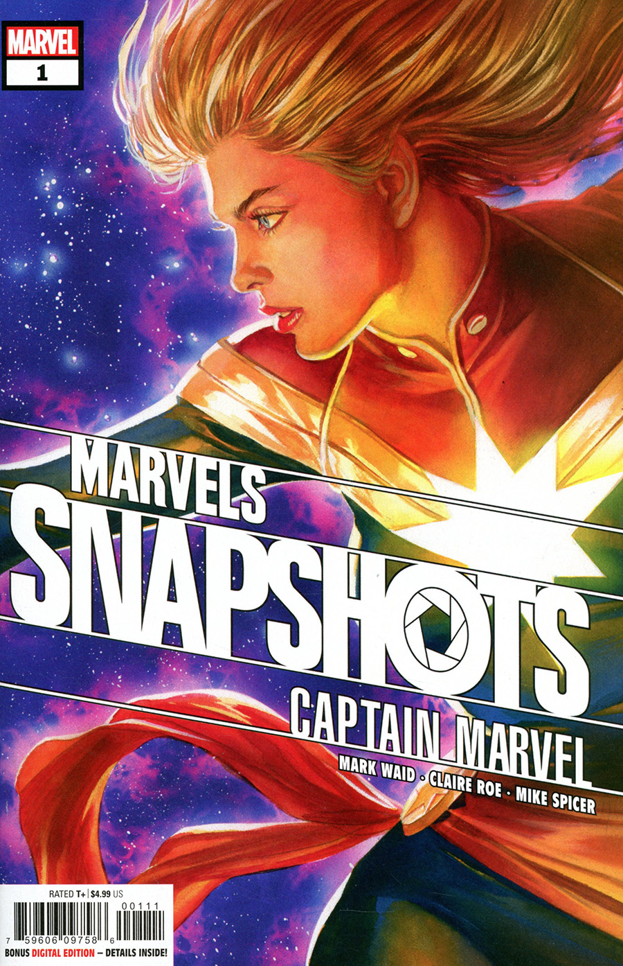 Captain Marvel Marvels Snapshots #1 Cover A Regular Alex Ross Cover