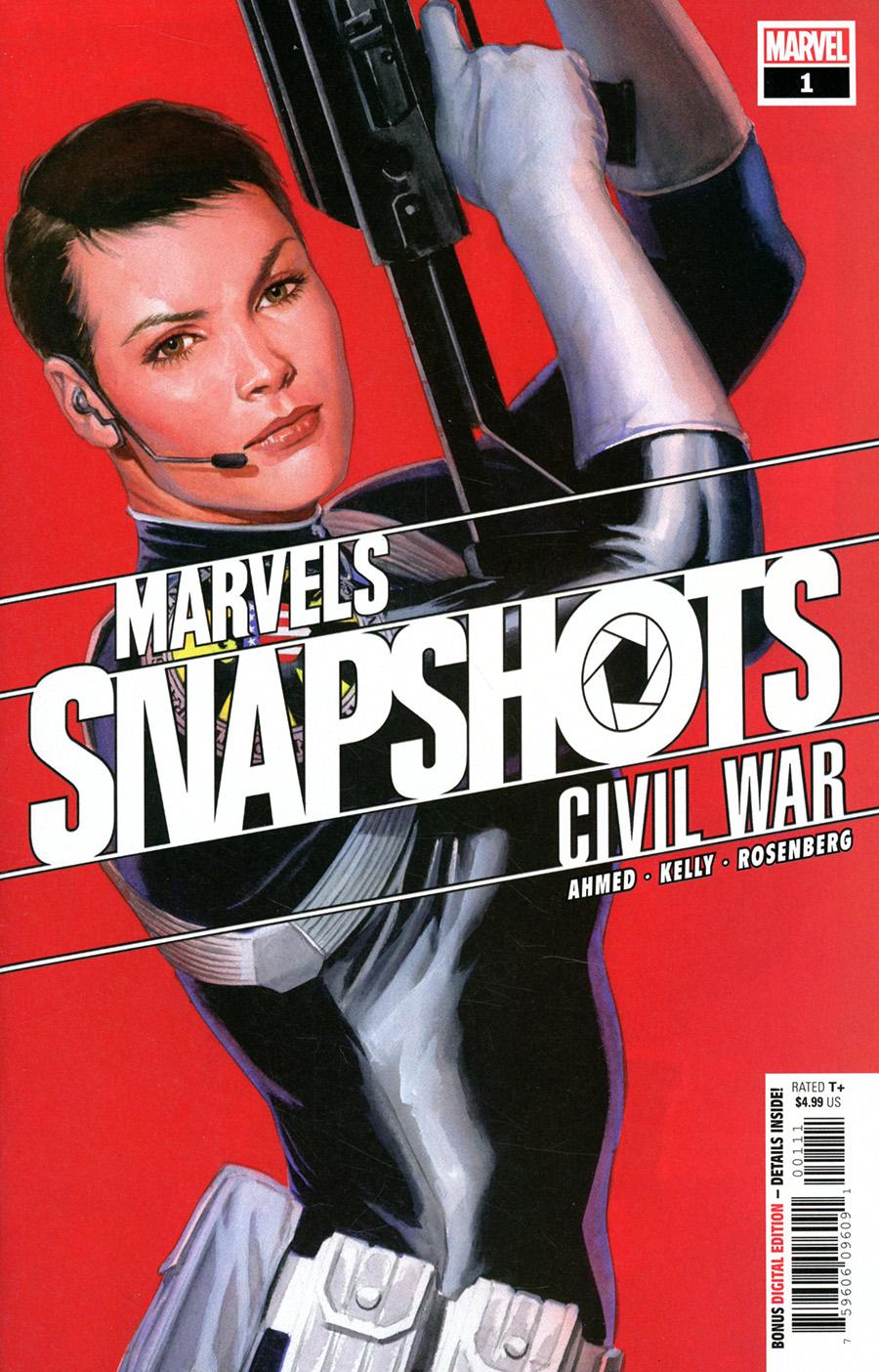 Civil War Marvels Snapshots #1 Cover A Regular Alex Ross Cover