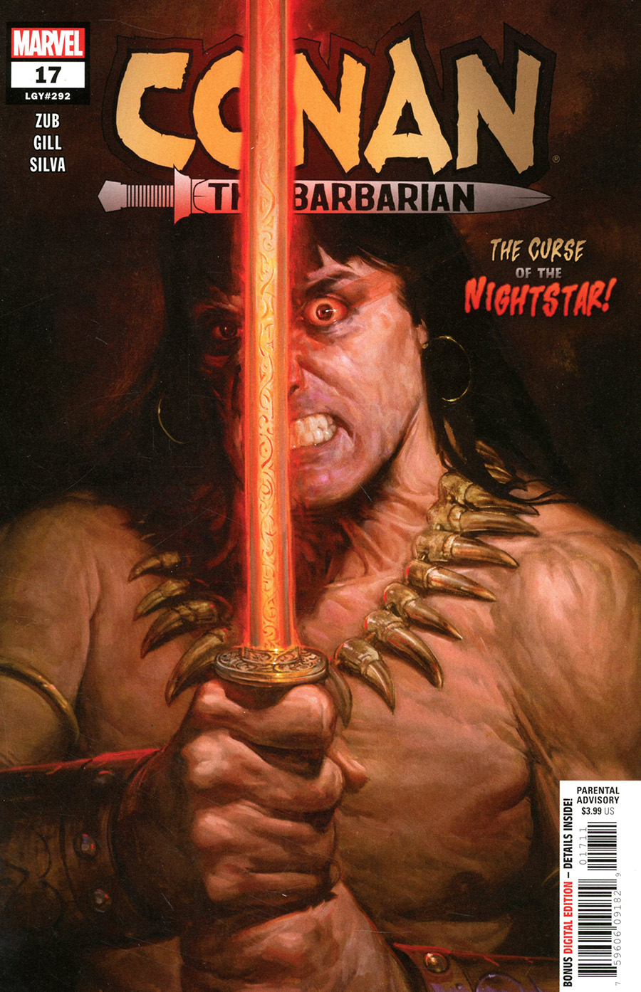 Conan The Barbarian Vol 4 #17 Cover A Regular EM Gist Cover