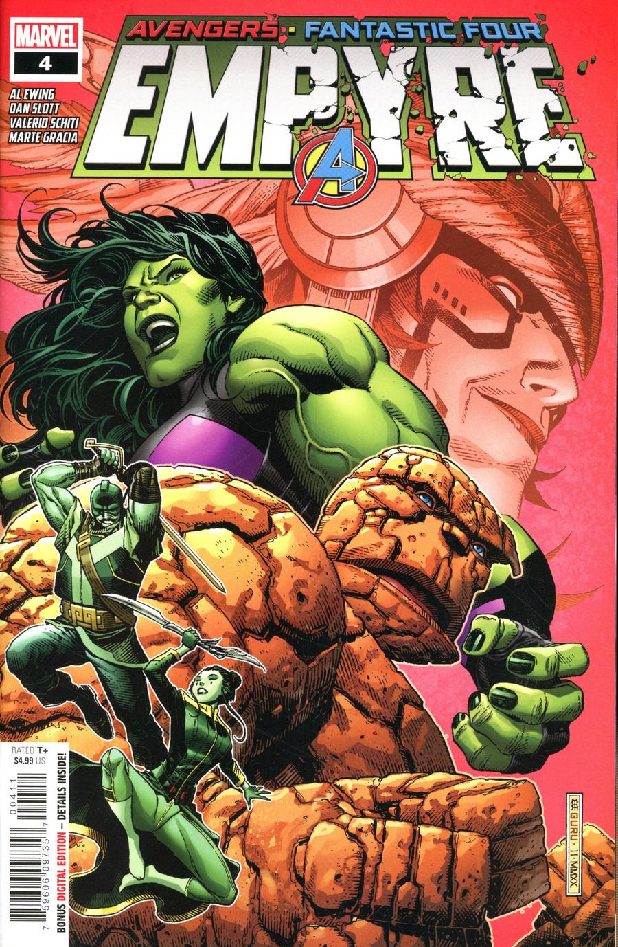 Empyre #4 Cover A Regular Jim Cheung Cover
