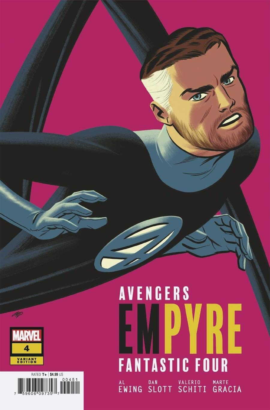 Empyre #4 Cover D Variant Michael Cho Fantastic Four Cover