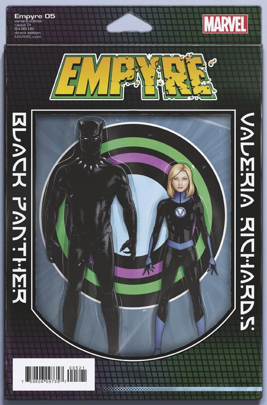 Empyre #5 Cover B Variant John Tyler Christopher 2-Pack Action Figure Cover
