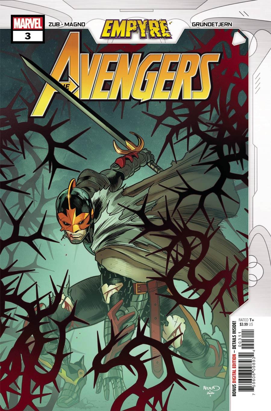 Empyre Avengers #3 Cover A Regular Paul Renaud Cover