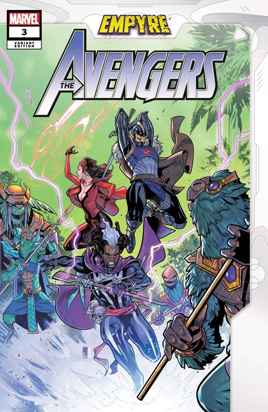 Empyre Avengers #3 Cover B Variant Paco Medina Cover