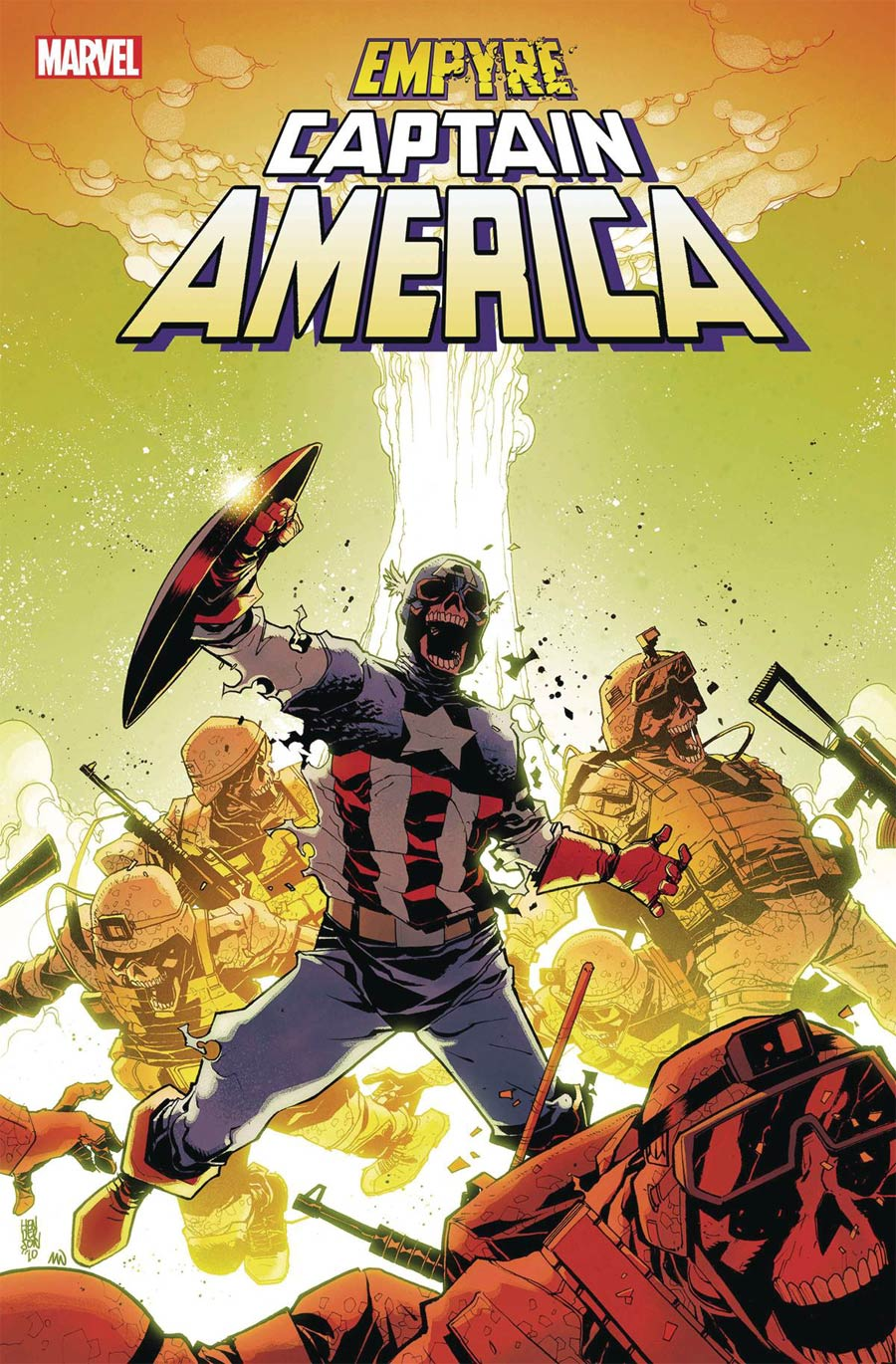 Empyre Captain America #2 Cover A Regular Mike Henderson Cover