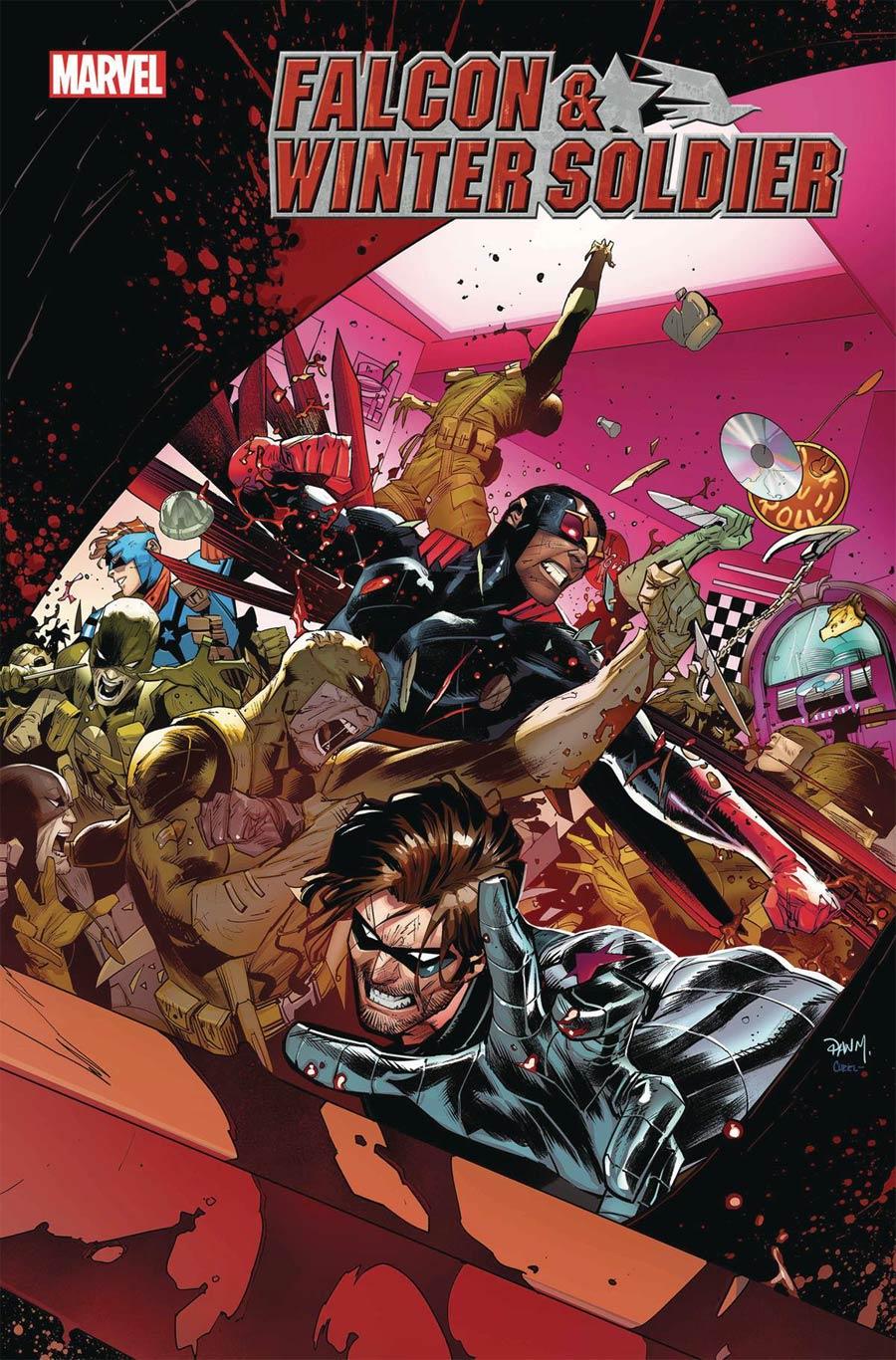 Falcon & Winter Soldier #5 Cover A Regular Dan Mora Cover