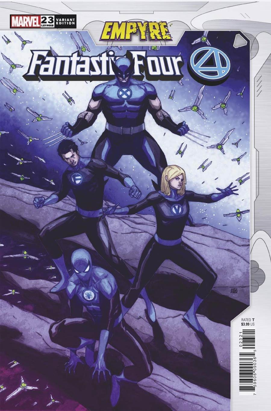 Fantastic Four Vol 6 #23 Cover B Variant Khoi Pham Empyre Cover (Empyre Tie-In)