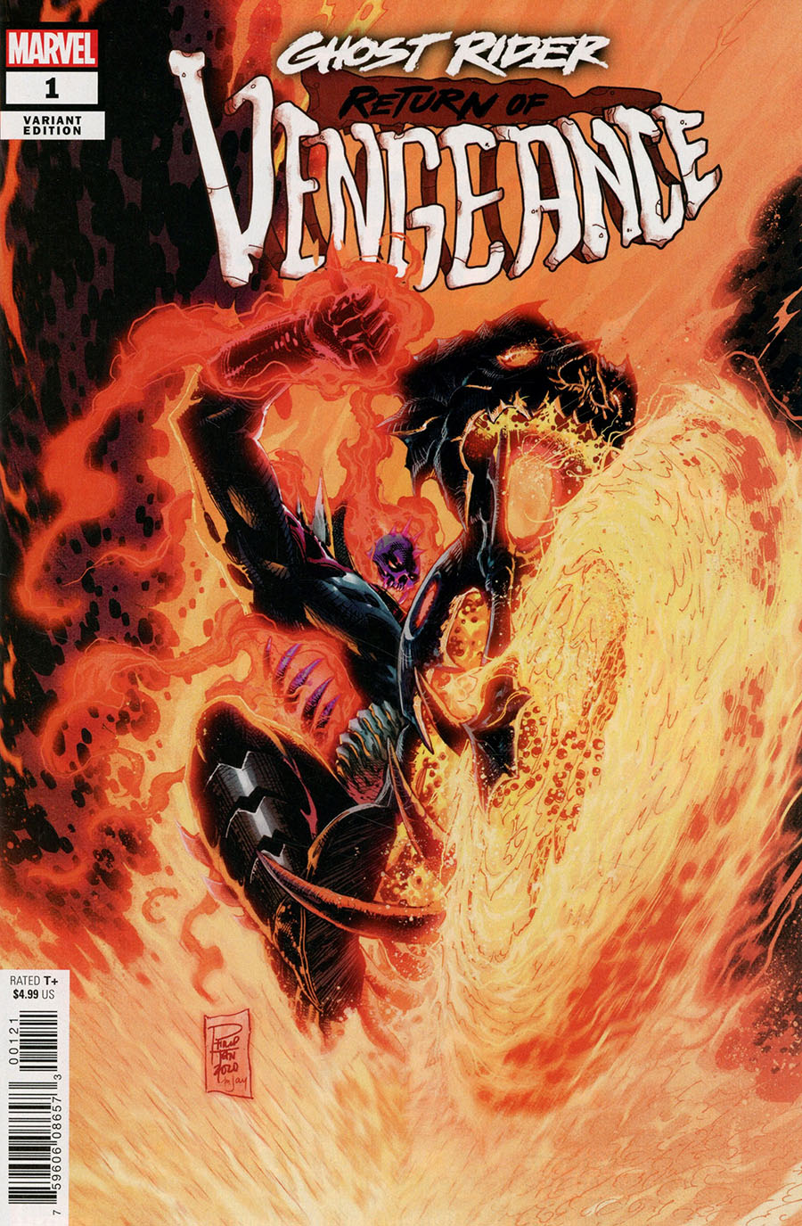 Ghost Rider Return Of Vengeance One Shot Cover C Variant Philip Tan Cover