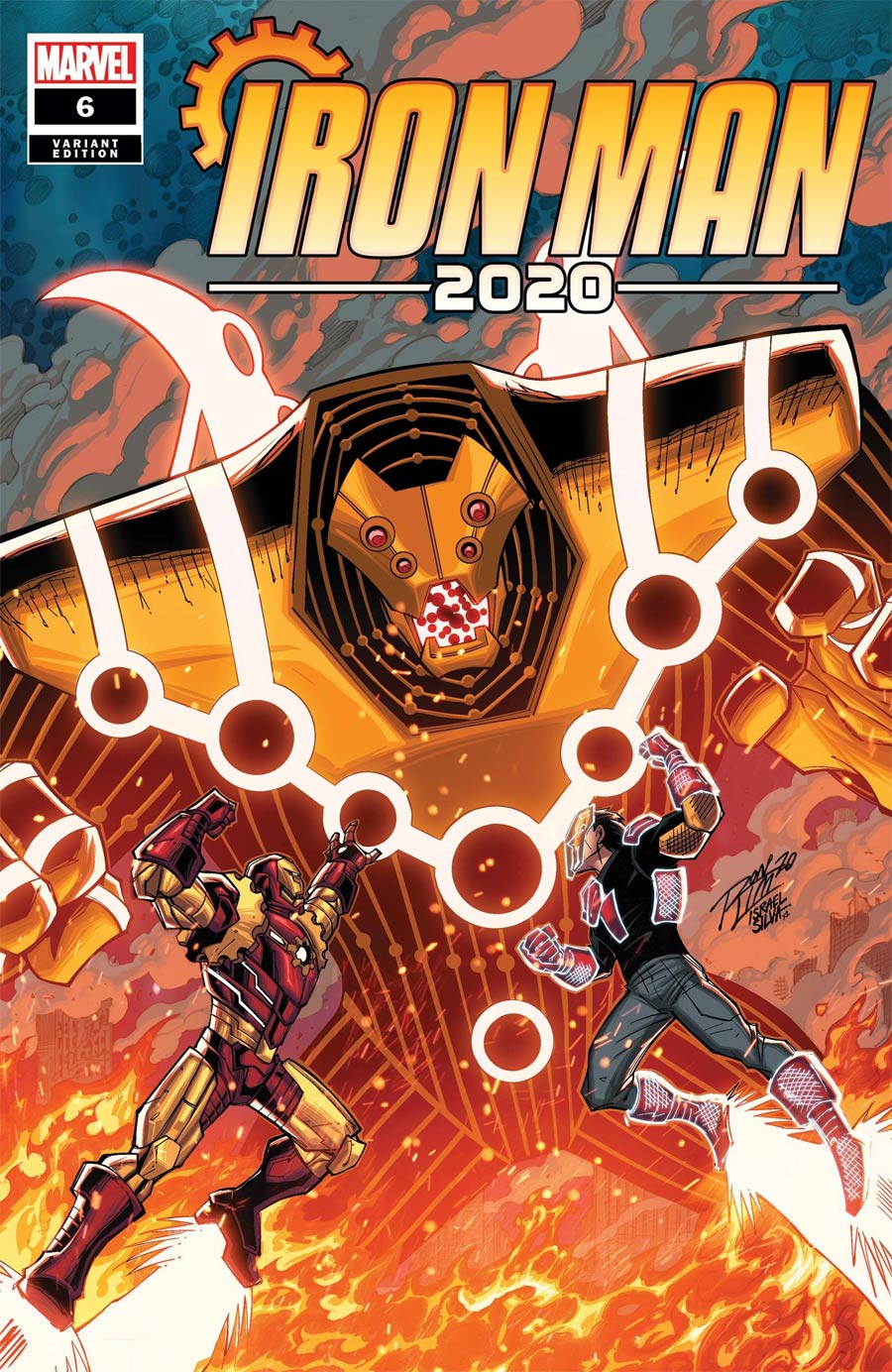 Iron Man 2020 #6 Cover D Variant Ron Lim Cover