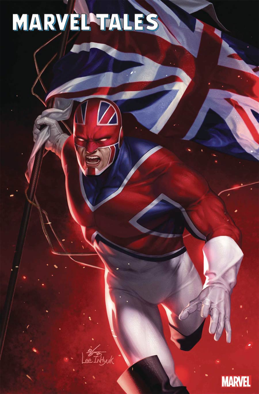 Marvel Tales Captain Britain #1 Cover A Regular Inhyuk Lee Cover