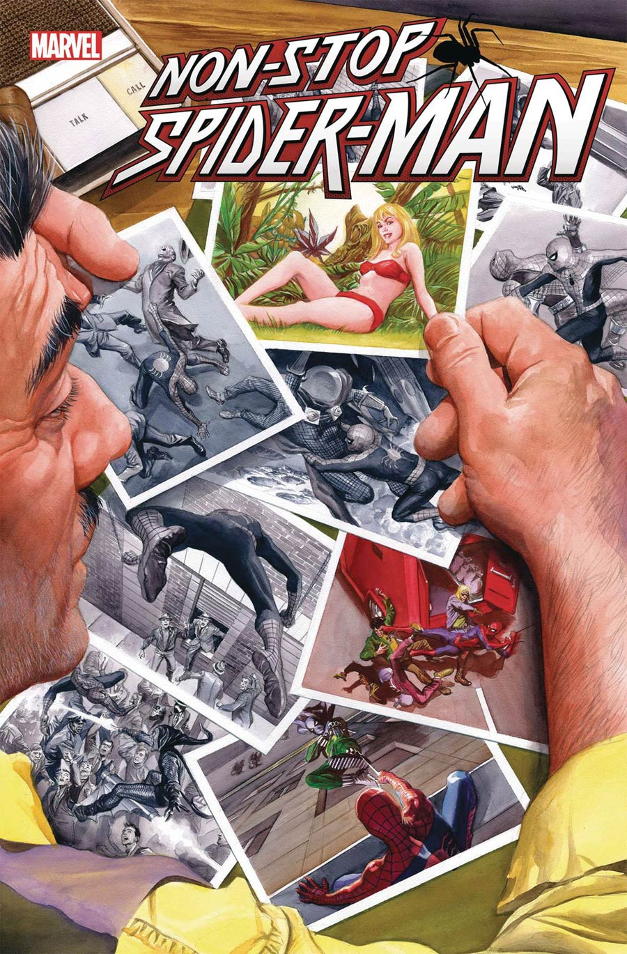 Non-Stop Spider-Man #1 Cover B Variant Alex Ross Cover