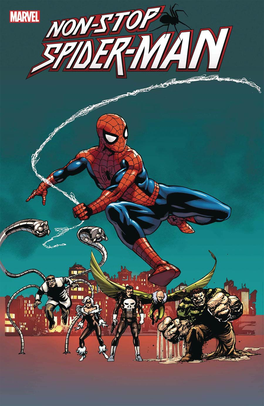 Non-Stop Spider-Man #1 Cover F Variant Greg Laroque Cover