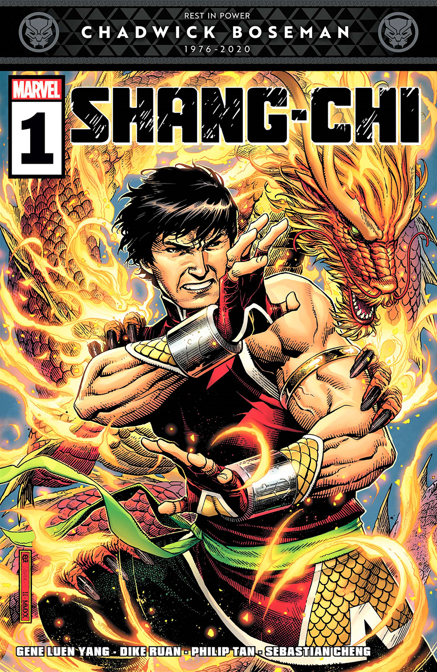 Shang-Chi #1 Cover A Regular Jim Cheung Cover