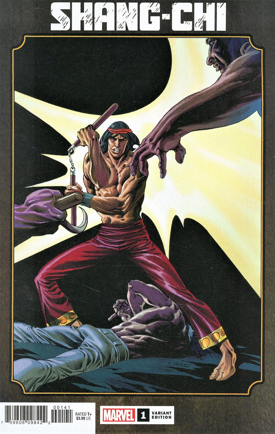 Shang-Chi #1 Cover C Variant Rudy Nebres Hidden Gem Cover