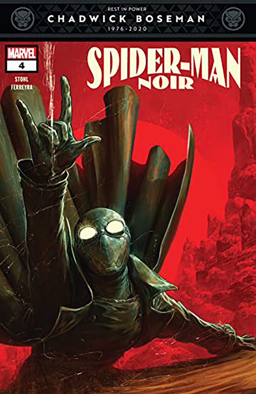 Spider-Man Noir Vol 2 #4 Cover A Regular Dave Rapoza Cover