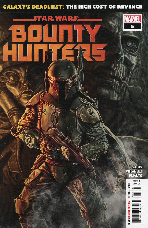 Star Wars Bounty Hunters #5 Cover A 1st Ptg Regular Lee Bermejo Cover