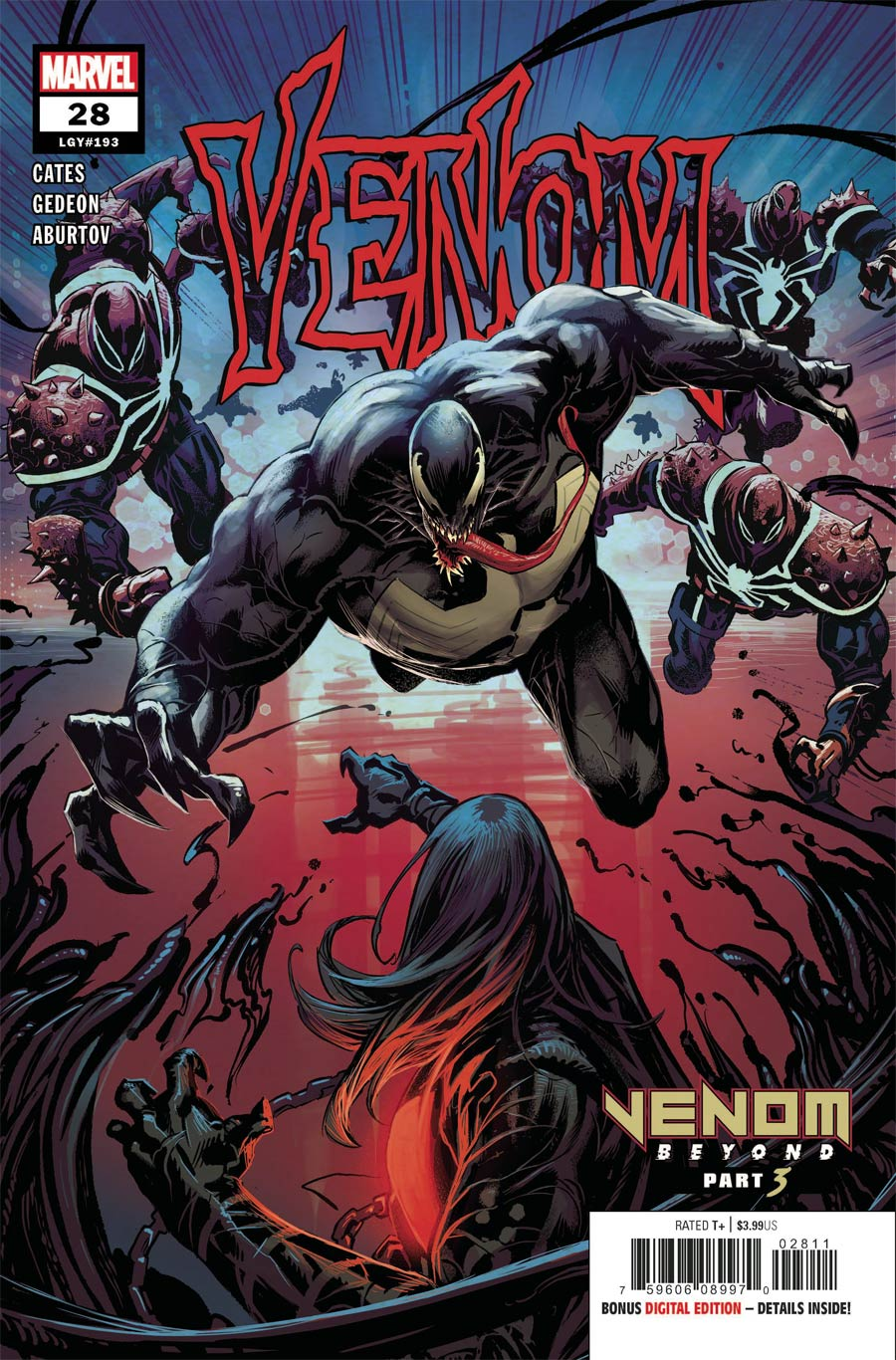 Venom Vol 4 #28 Cover A 1st Ptg Regular Geoff Shaw Cover