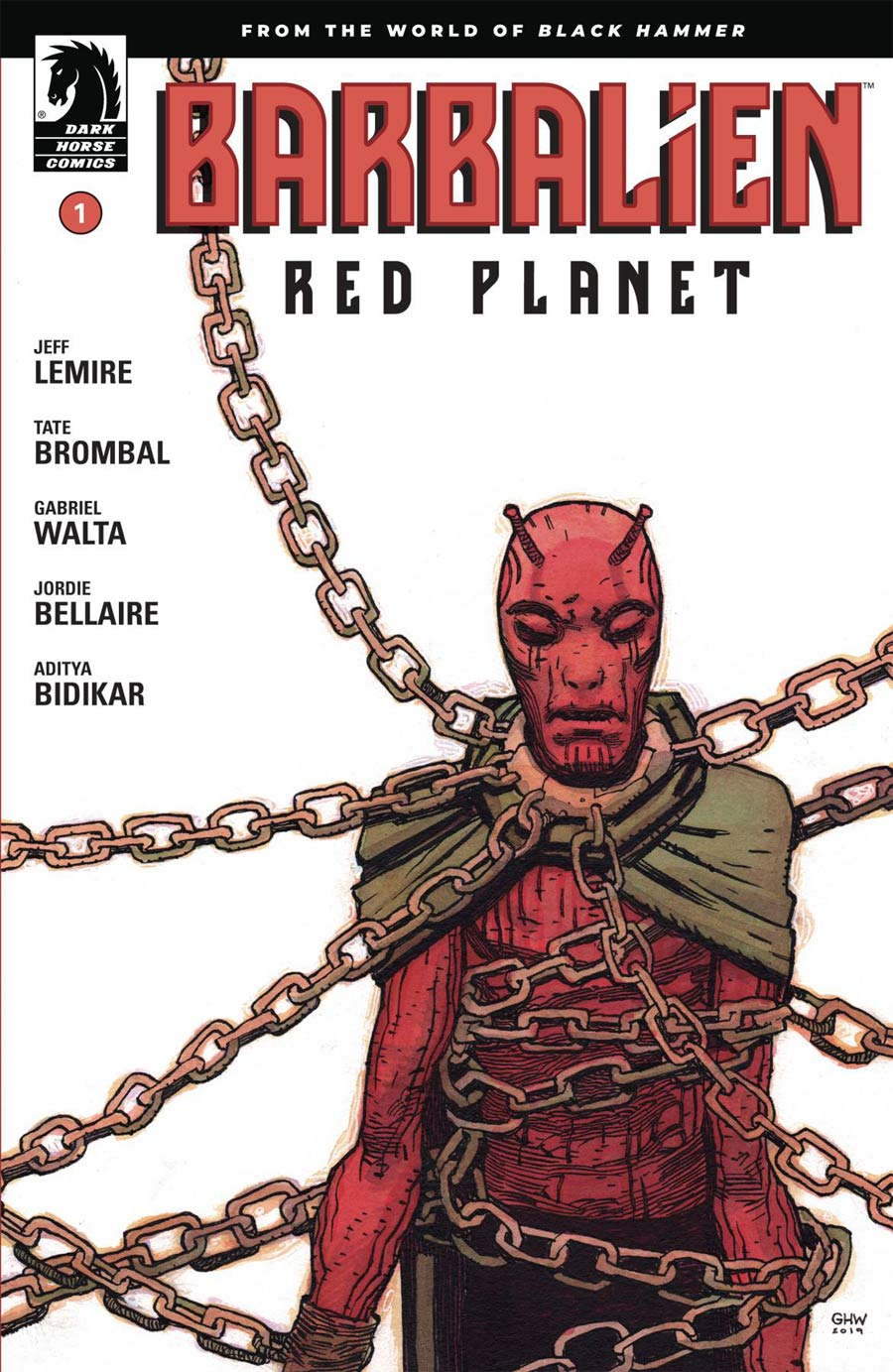 Barbalien Red Planet #1 Cover A Regular Gabriel Hernandez Walta Cover - RESOLICITED