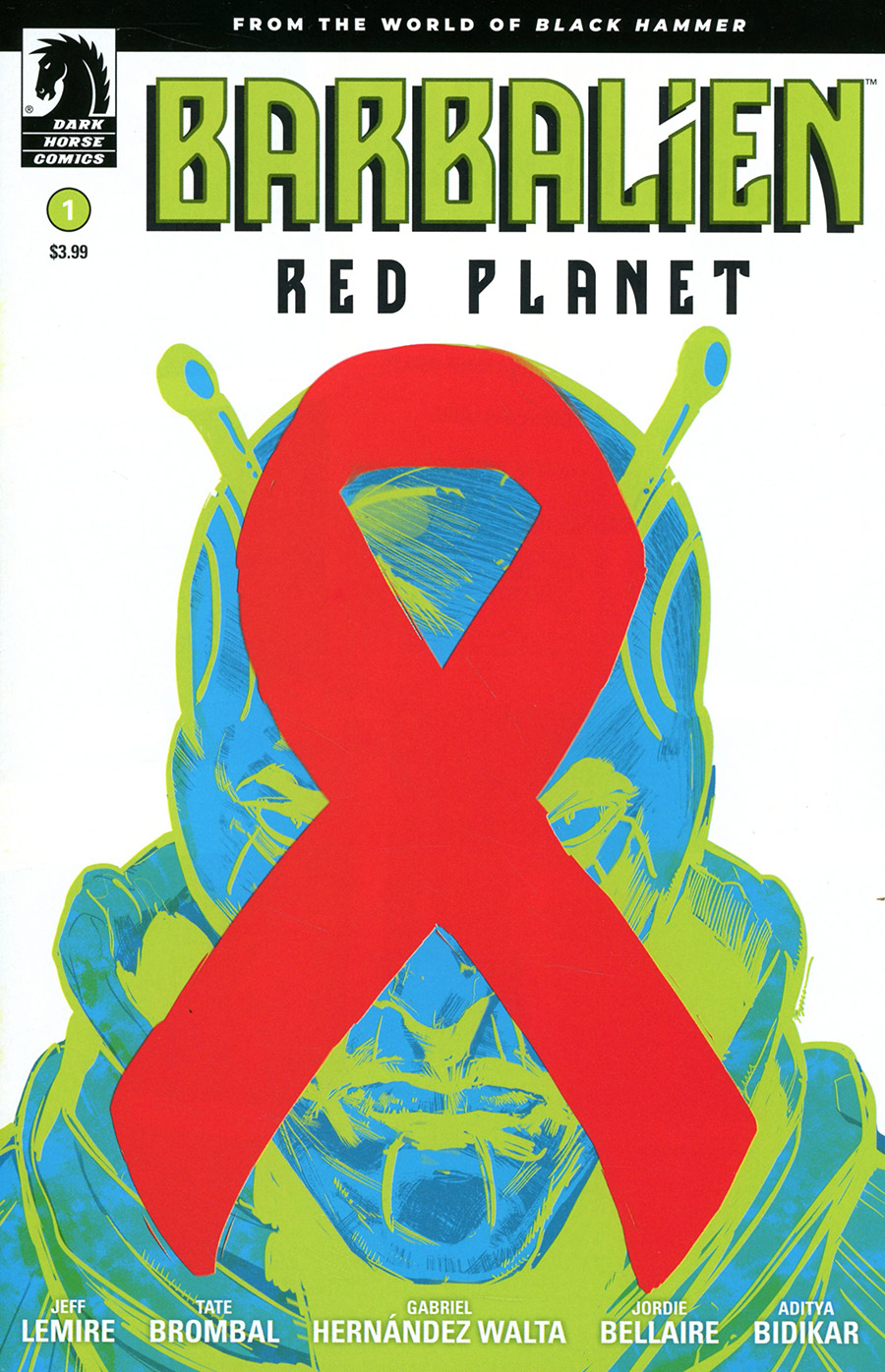 Barbalien Red Planet #1 Cover B Variant Phil Jimenez & Dave Stewart Cover