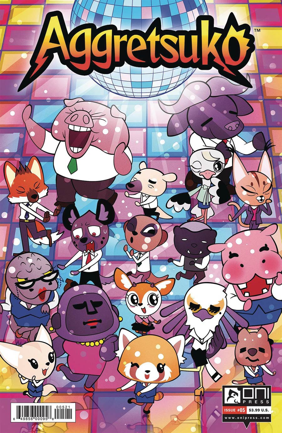 Aggretsuko #5 Cover B Variant Phil Murphy Cover