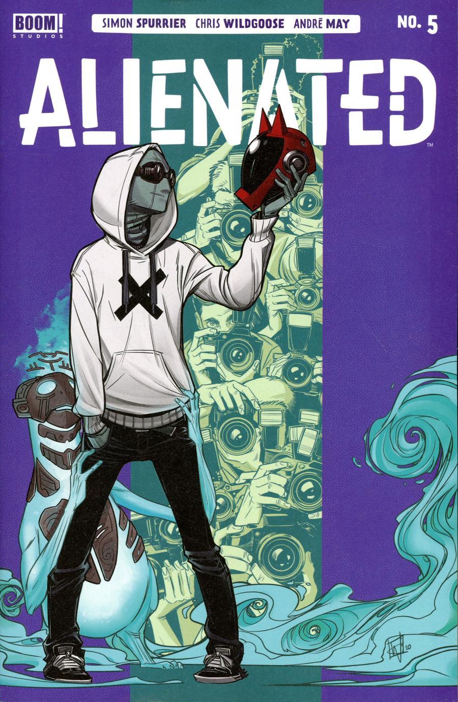 Alienated #5 Cover A Regular Chris Wildgoose Cover