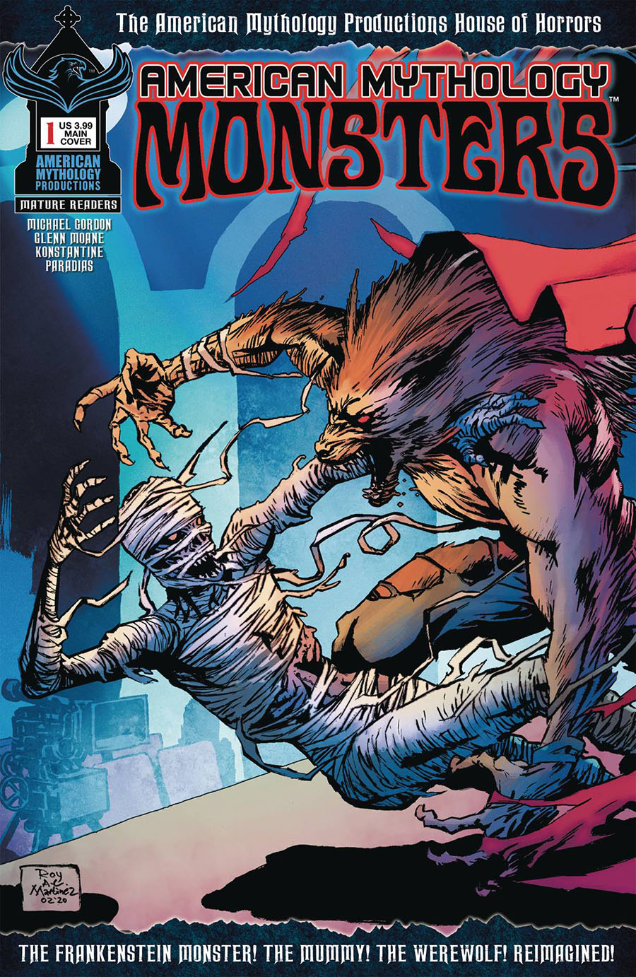 American Mythology Monsters #1 Cover A Regular Roy Allan Martinez Cover