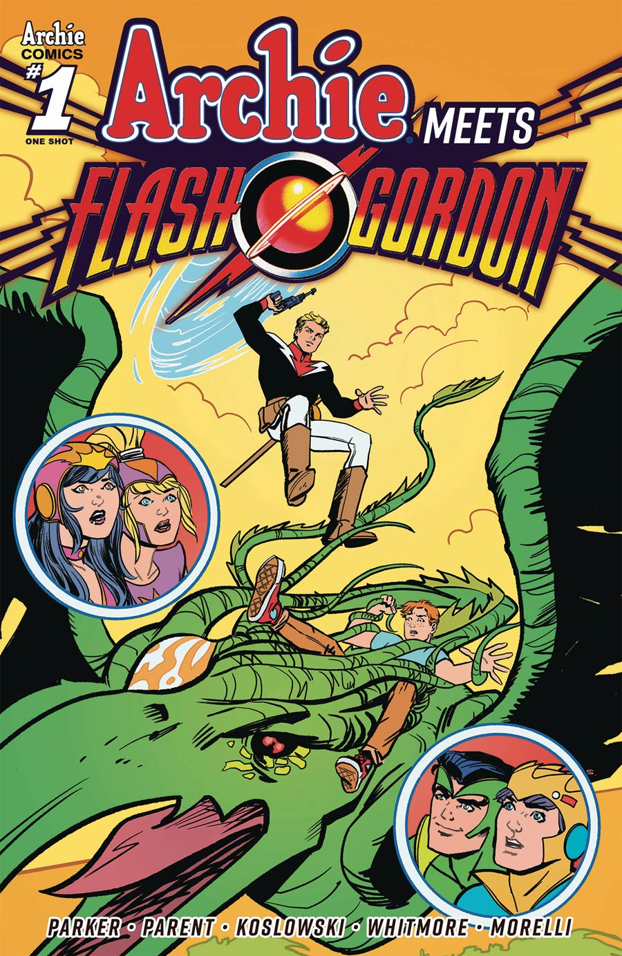 Archie Meets Flash Gordon One Shot Cover B Variant Sandy Jarrell Cover