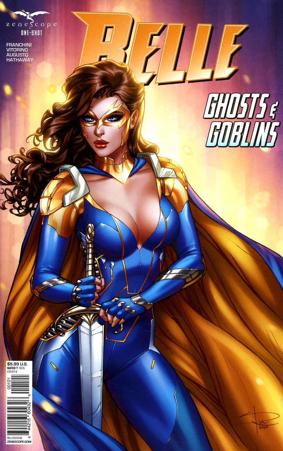 Grimm Fairy Tales Presents Belle Ghost And Goblins One Shot Cover B Sabine Rich