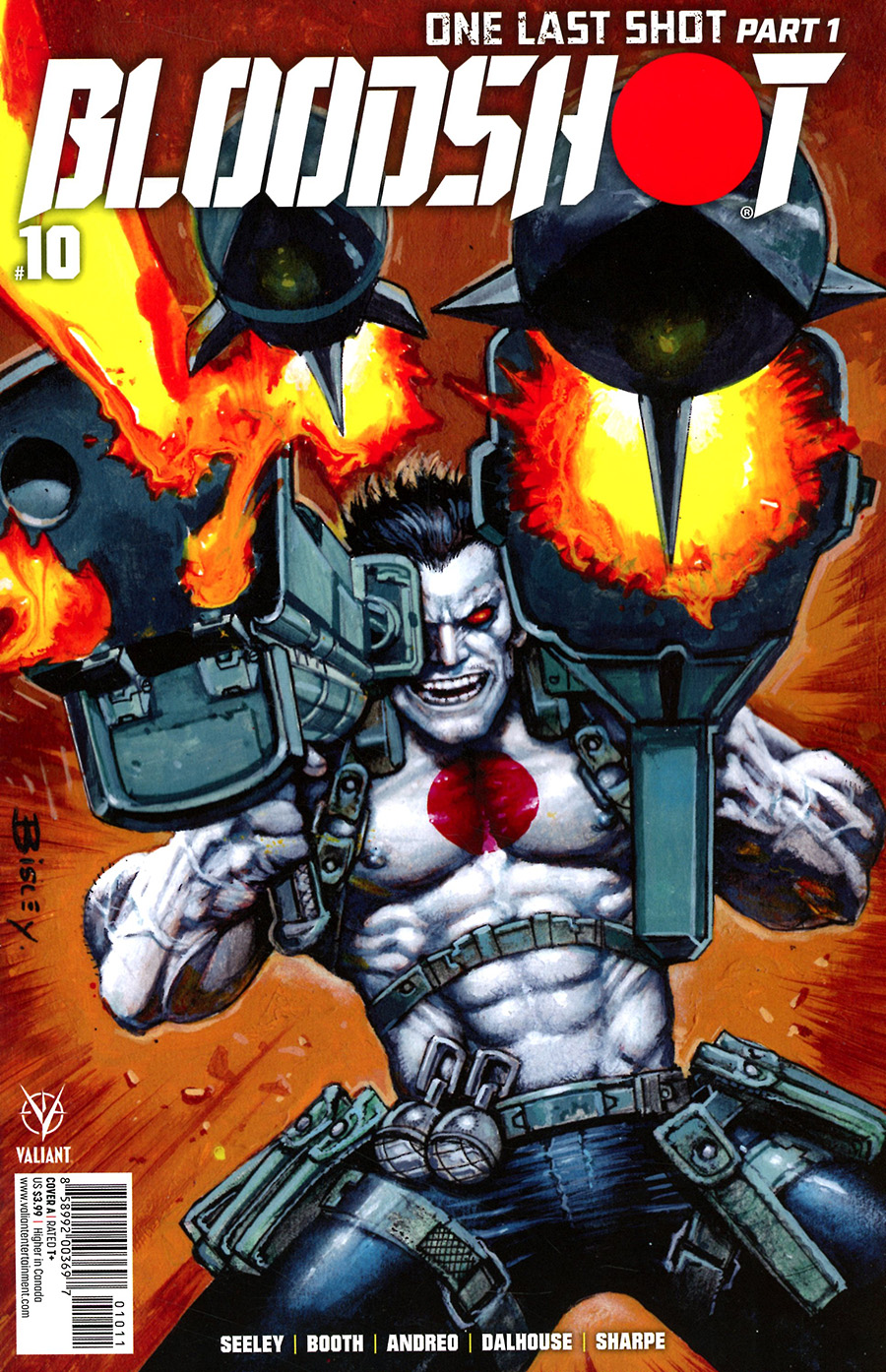 Bloodshot Vol 4 #10 Cover A Regular Simon Bisley Cover