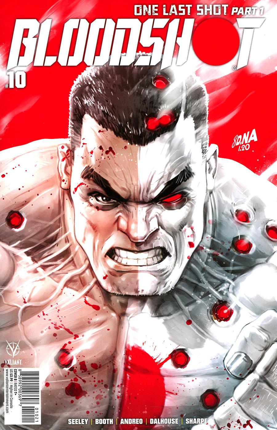 Bloodshot Vol 4 #10 Cover B Variant David Nakayama Cover