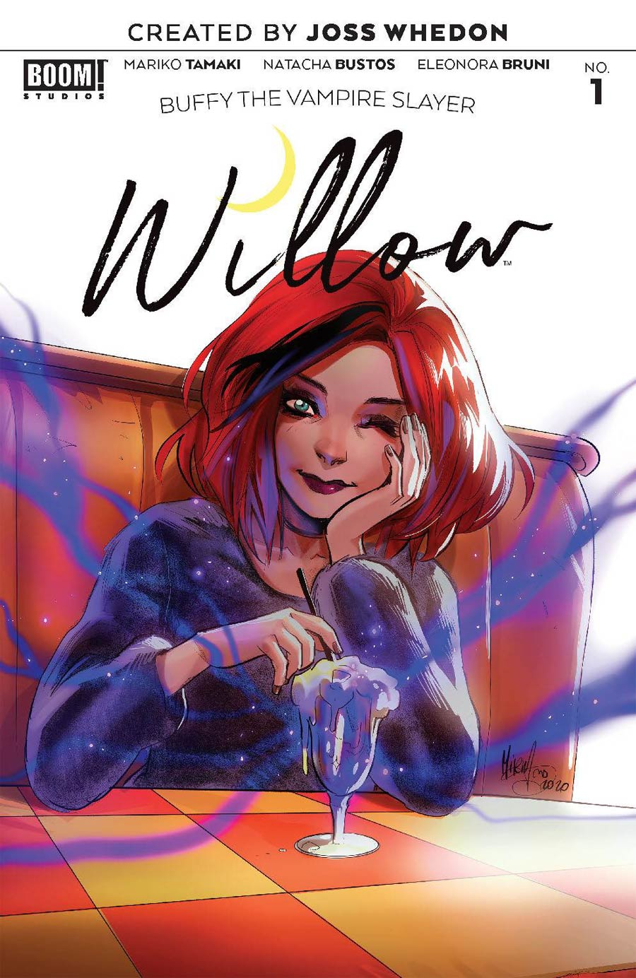 Buffy The Vampire Slayer Willow #1 Cover B Variant Mirka Andolfo Cover
