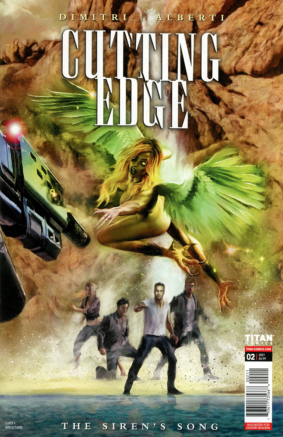 Cutting Edge Sirens Song #2 Cover A Regular Marco Turini Cover