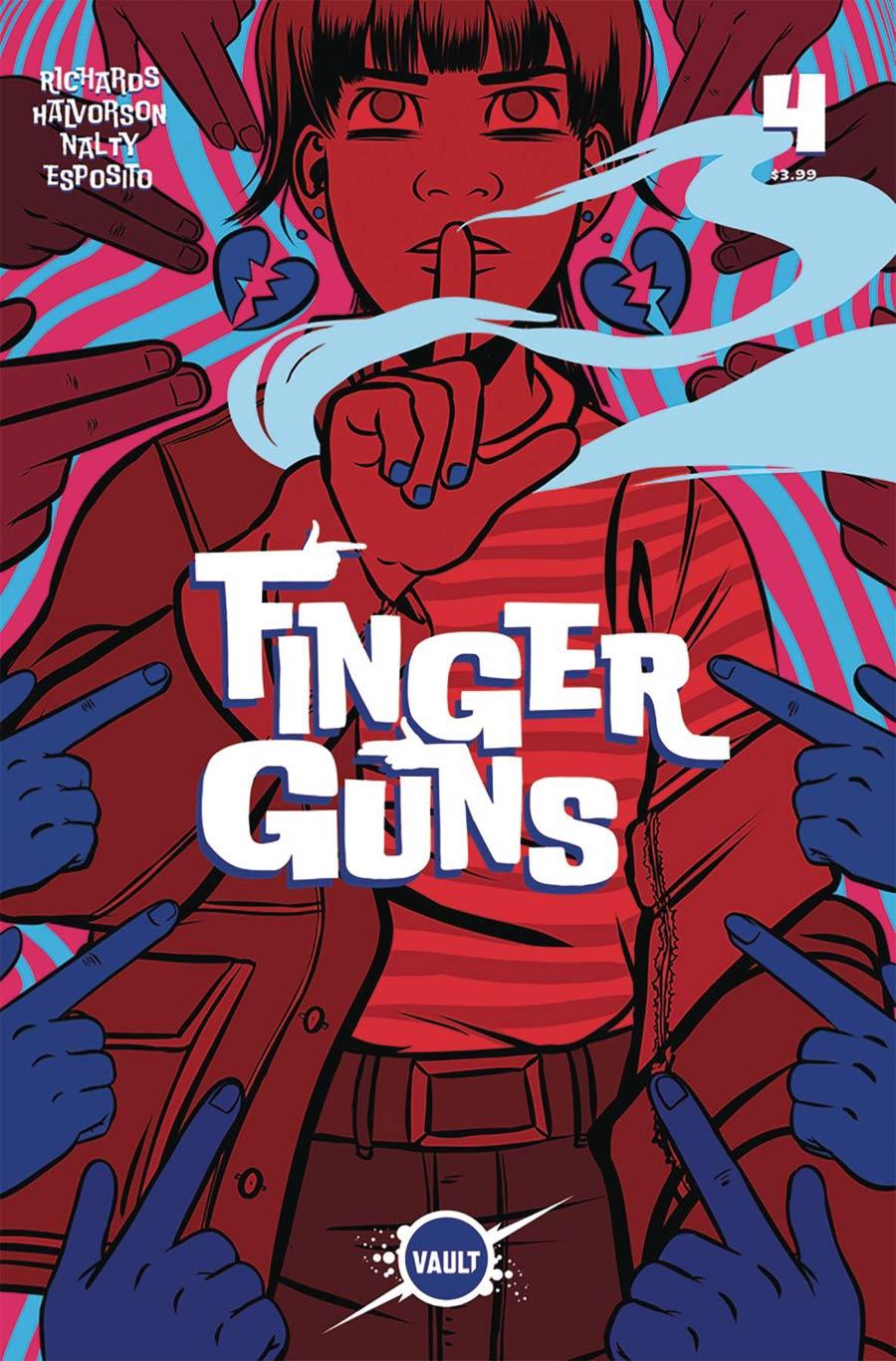 Finger Guns #4 Cover A Regular Val Halvorson Cover