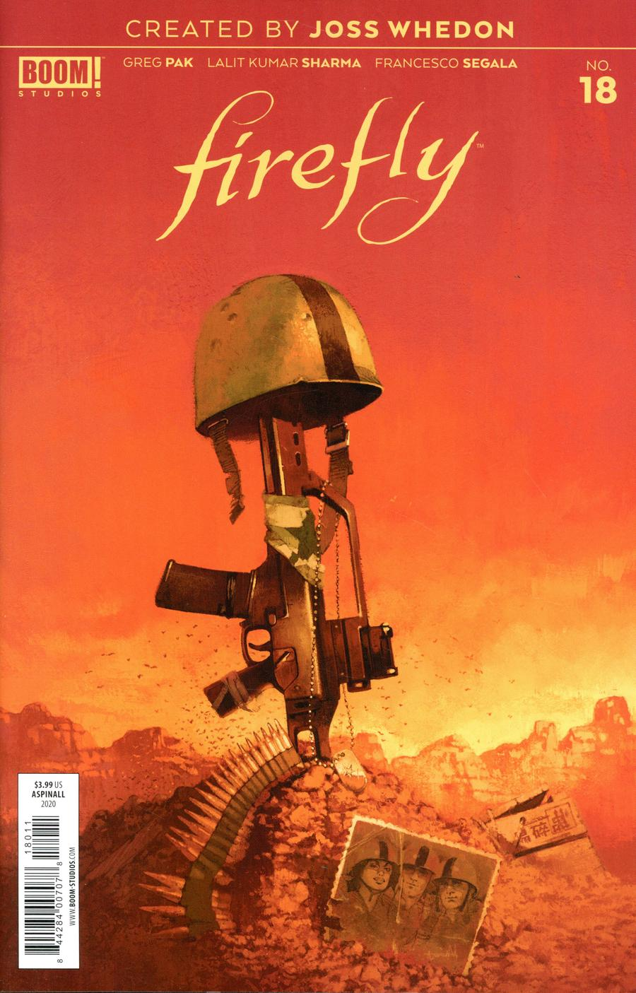 Firefly #18 Cover A Regular Marc Aspinall Cover