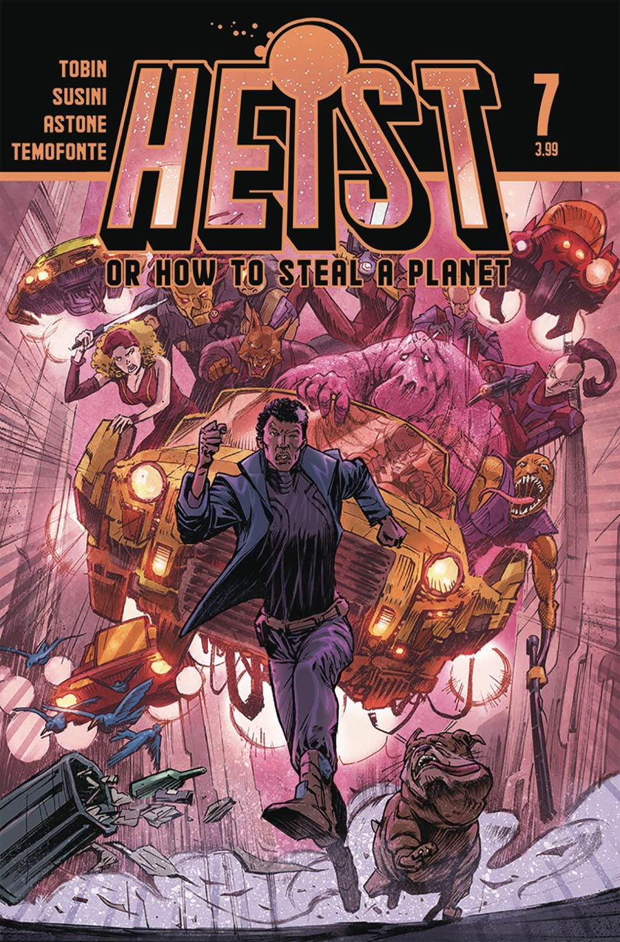 Heist Or How To Steal A Planet #7