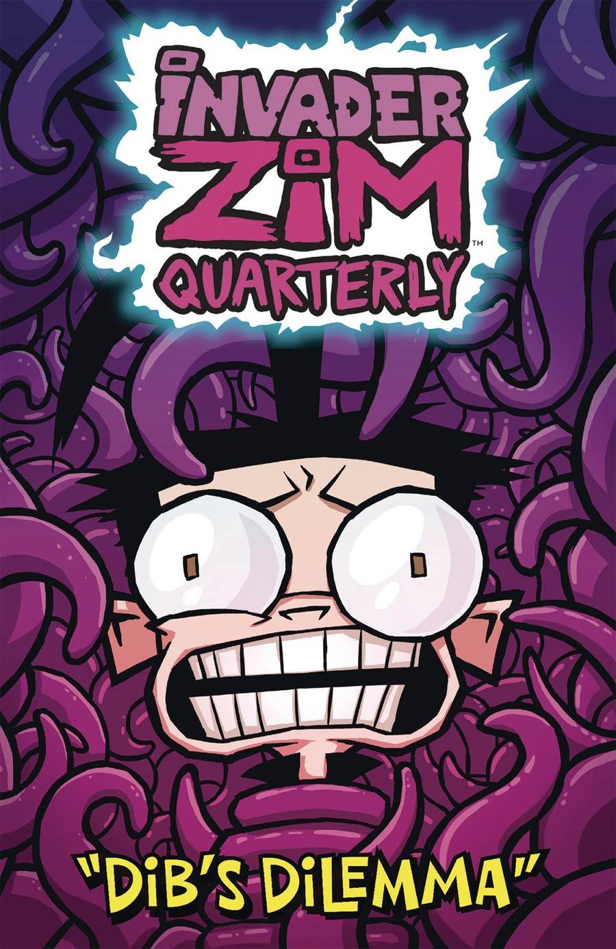 Invader Zim Quarterly #2 Dibs Dilemma Cover A Regular Warren Wucinich Cover