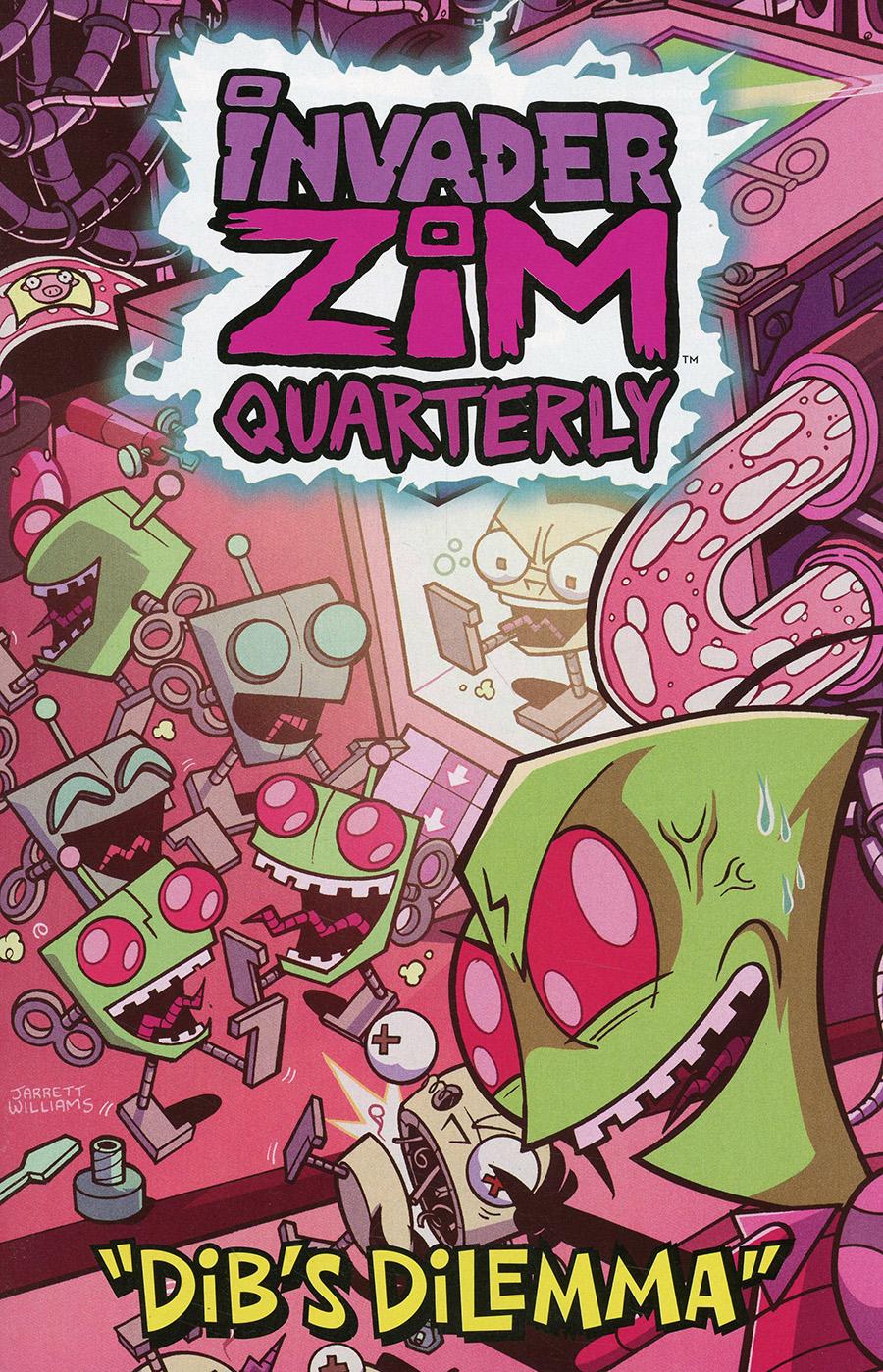 Invader Zim Quarterly #2 Dibs Dilemma Cover C Variant Jarrett Williams Cover