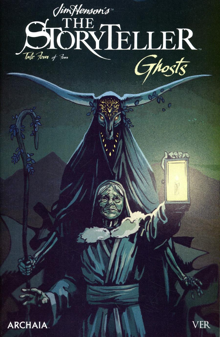 Jim Hensons Storyteller Ghosts #4 Cover A Regular Michael Walsh Cover