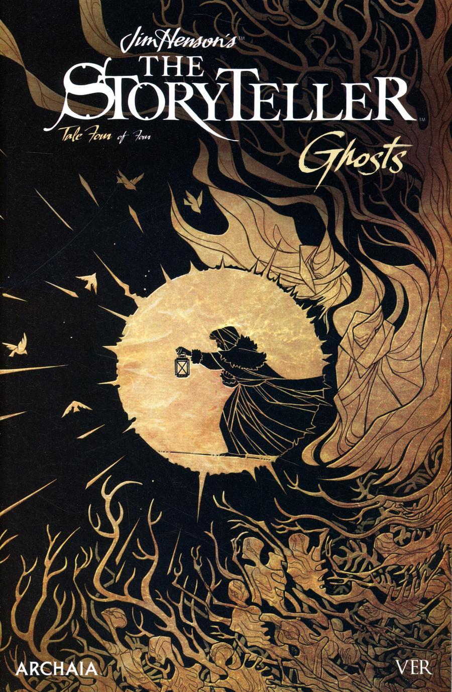 Jim Hensons Storyteller Ghosts #4 Cover B Variant VER Cover