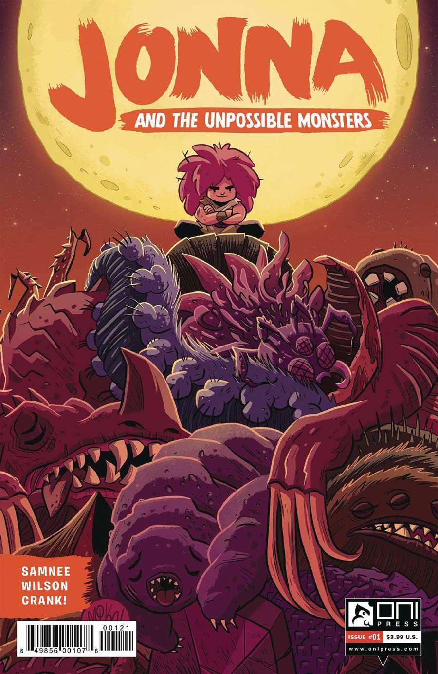 Jonna And The Unpossible Monsters #1 Cover B Variant Mike Maihack Cover