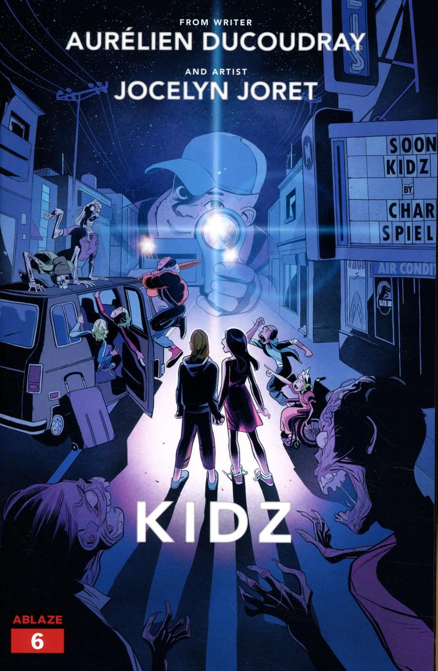 Kidz #6 Cover B Variant Vittoria Macioci Super 8 Homage Cover