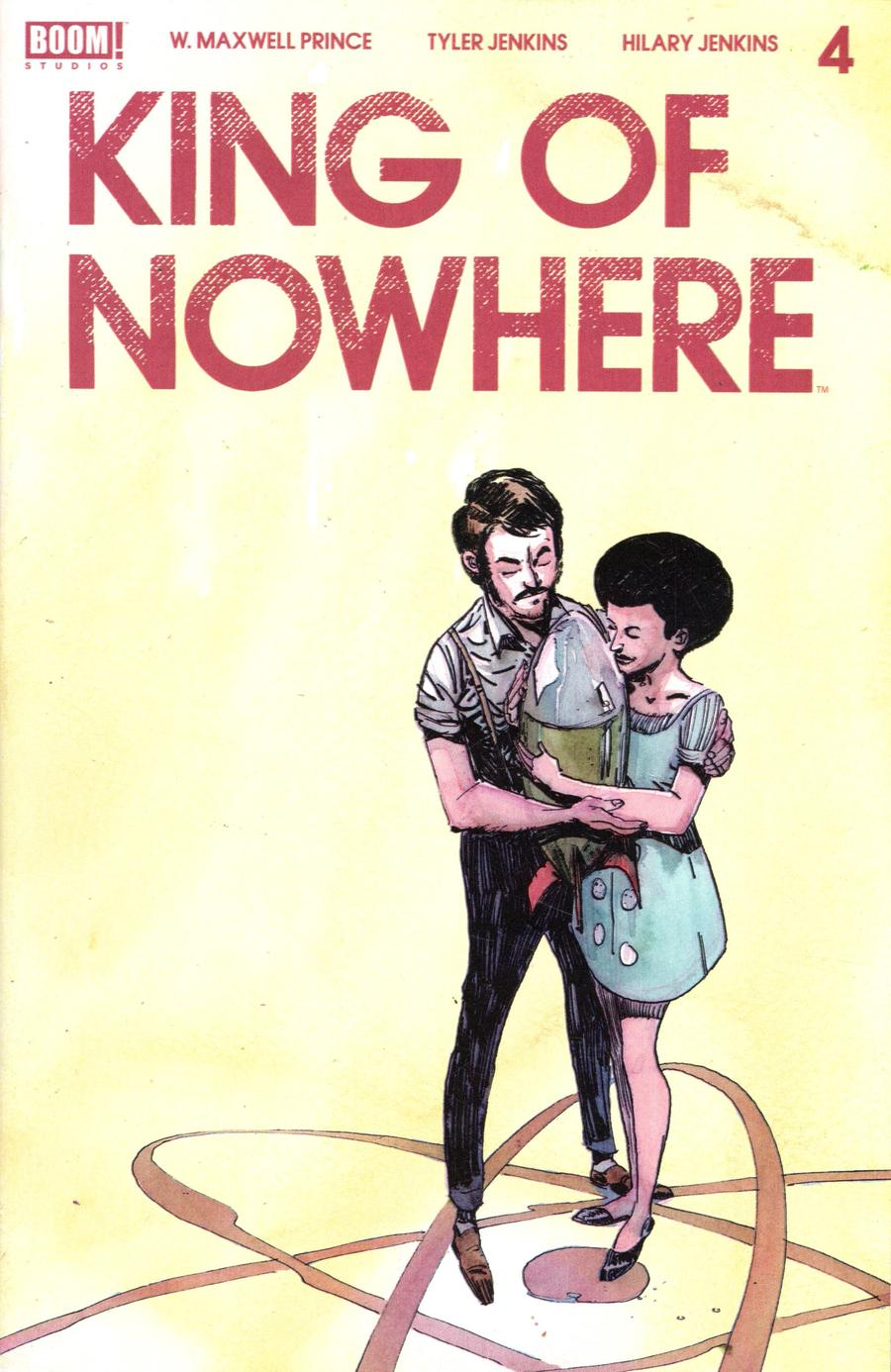 King Of Nowhere #4 Cover A Regular Tyler Jenkins Cover