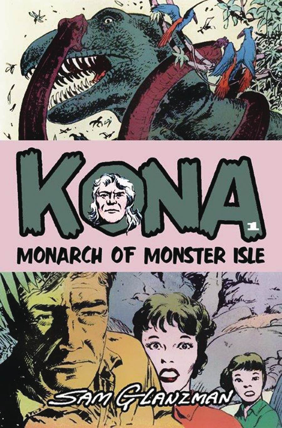 Kona Monarch Of Monster Isle #1 Cover A Regular Sam Glanzman Cover